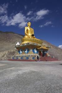 Budha statue near Kurphuk Monastery