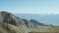 View from lower part of Khardung la 4000m aprox. to Leh (2)