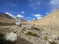 Way to top of Warila pass, 4300m