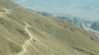 view from higher parts of Khardung la 5000m aprox